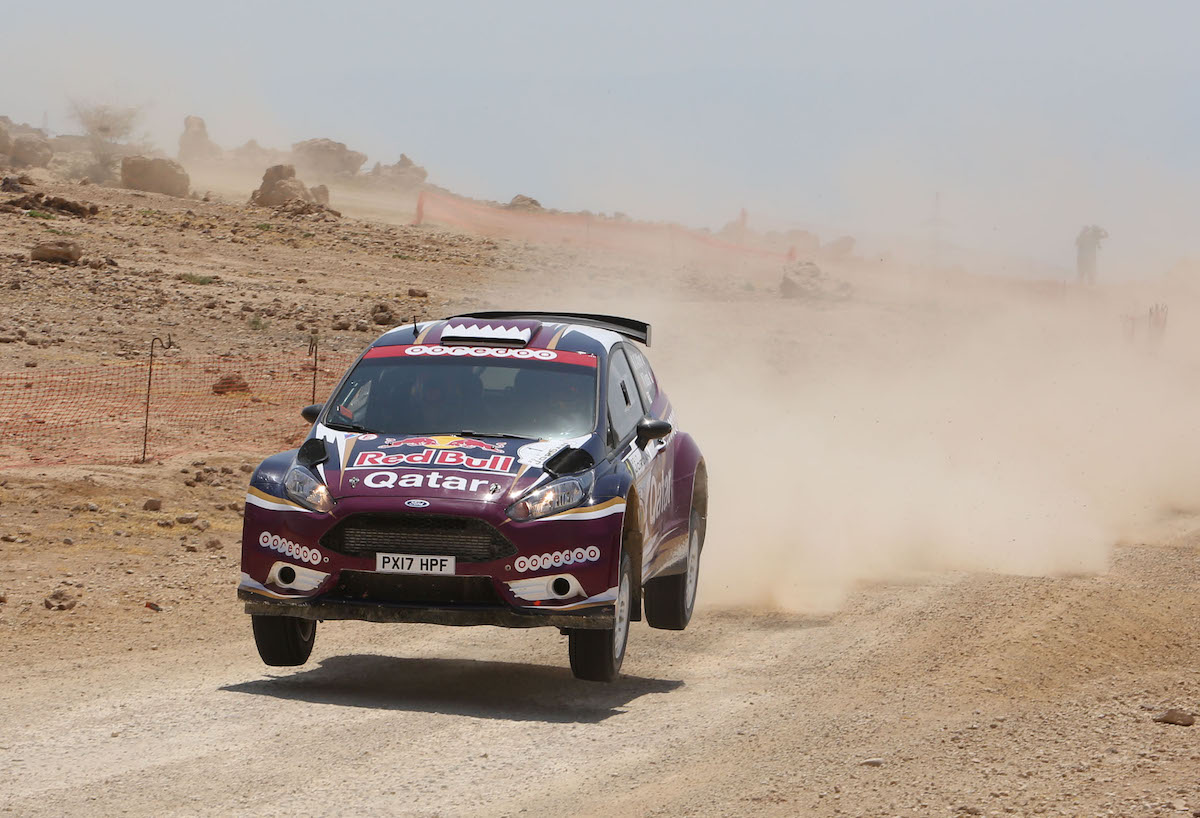 Nasser Saleh Al-Attiyah has a record 11 victories in the Jordan Rally.